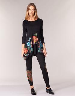 material Women leggings Desigual JULEF Black