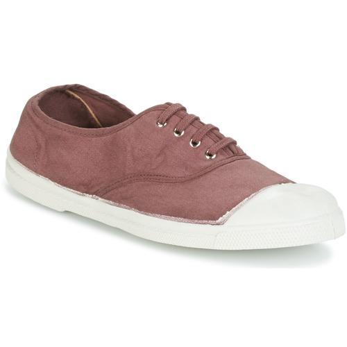 Shoes Women Low top trainers Bensimon TENNIS LACET Prune