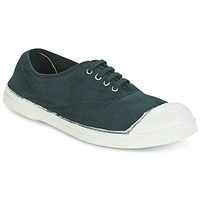 Shoes Women Low top trainers Bensimon TENNIS LACET Green / Dark