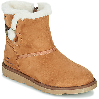 Shoes Girl Mid boots Tom Tailor JAVILOME Brown