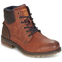 Shoes Men Mid boots Tom Tailor TIAGO Brown