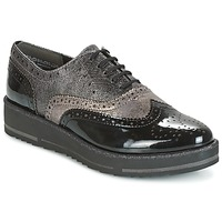 Shoes Women Derby shoes Marco Tozzi PASTEL Black / Grey