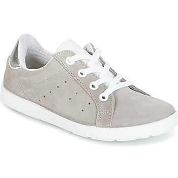 Shoes Girl Low top trainers Citrouille et Compagnie HINETTE Grey / Silver