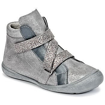 Shoes Girl High top trainers Citrouille et Compagnie HISSOU Grey