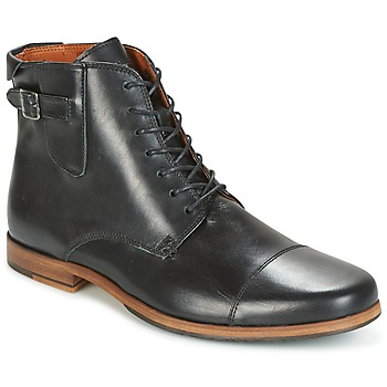Shoes Men Mid boots Schmoove BLIND BRITISH BROGUE Black