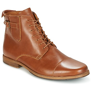 Shoes Men Mid boots Schmoove BLIND BRITISH BROGUE Camel