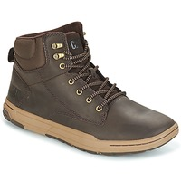 Shoes Men High top trainers Caterpillar COLFAX MID Brown / Dark