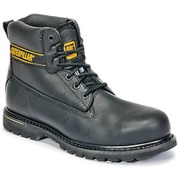Shoes Men Mid boots Caterpillar HOLTON ST SB Black