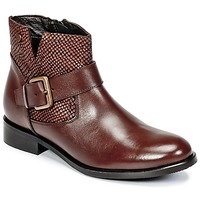 Shoes Women Mid boots Hush puppies DORAN Brown / Dark