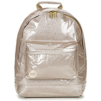 Bags Rucksacks Mi Pac GOLD COLLECTION GLITTER Pink