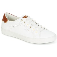 Shoes Women Low top trainers Molly Bracken MALIO White