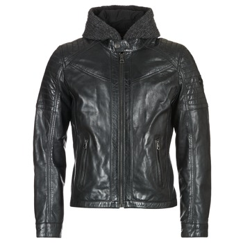 material Men Leather jackets / Imitation leather Redskins MORISSON Black