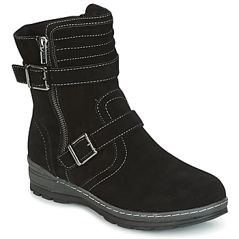 Shoes Women Mid boots Wildflower MYRNA Black
