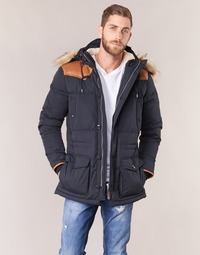 material Men Duffel coats Schott ARIZONA Blue / Marine