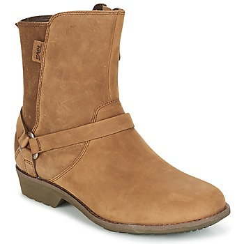 Shoes Women Mid boots Teva DE LA VINA DOS Brown