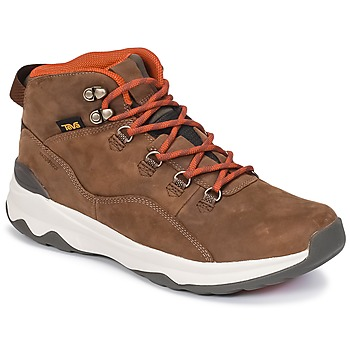 Shoes Men High top trainers Teva ARROWOOD UTILITY MID Brown