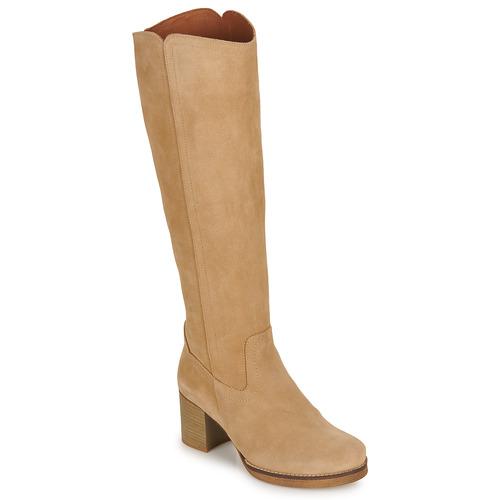 Shoes Women Boots Casual Attitude HAPI Beige