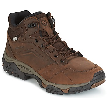Shoes Men Mid boots Merrell MOAB VENTURE MID WTPF Brown