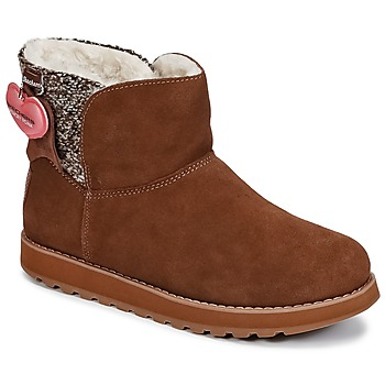 Shoes Women Mid boots Skechers KEEPSAKES Brown