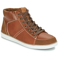 Shoes Men High top trainers Skechers MENS USA Camel