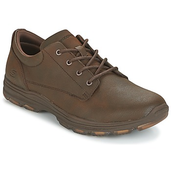 Shoes Men Low top trainers Skechers MENS USA Brown