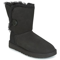 Shoes Women Mid boots UGG BAILEY BUTTON II Black