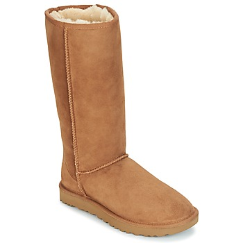Shoes Women Mid boots UGG CLASSIC TALL II Brown