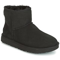 Shoes Women Mid boots UGG CLASSIC MINI II Black