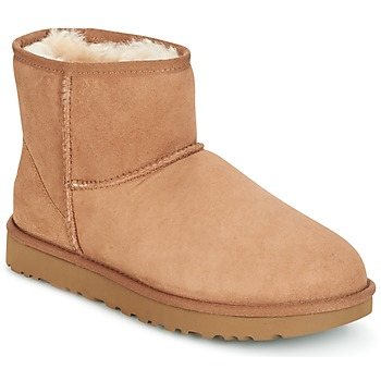 Shoes Women Mid boots UGG CLASSIC MINI II Camel