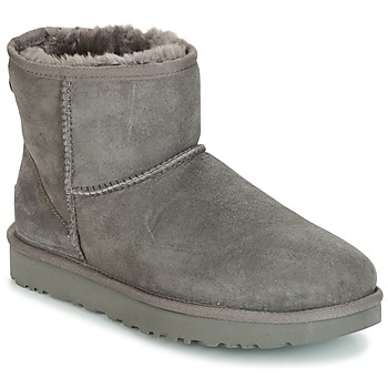 Shoes Women Mid boots UGG CLASSIC MINI II Grey