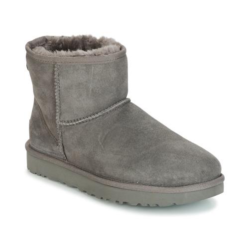 Shoes Women Mid boots UGG CLASSIC MINI II Grey