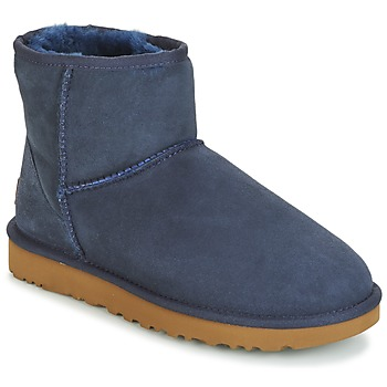 Shoes Women Mid boots UGG CLASSIC MINI II MARINE