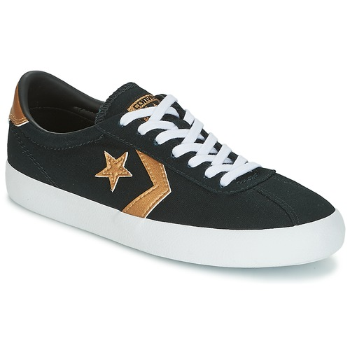 Converse BREAKPOINT OX black / Gold - Fast delivery | Spartoo