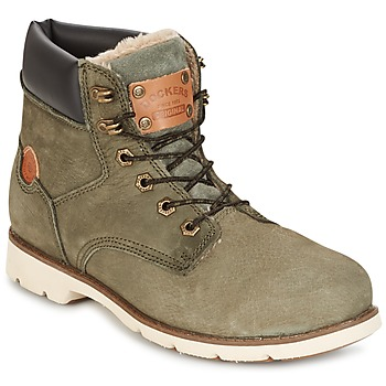 Shoes Women Mid boots Dockers by Gerli POLAR Kaki