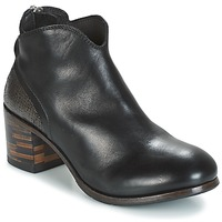Shoes Women Mid boots Moma CUSNA NERO/ TALON TACO MIX, ARRIRE AFRICA Black / Silver