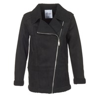 material Women coats Betty London HARMI Black