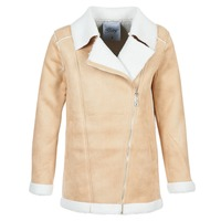 material Women coats Betty London HARMI BEIGE