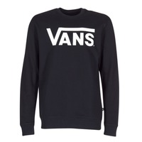 material Men sweatpants Vans VANS CLASSIC CREW Black