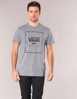 material Men short-sleeved t-shirts Vans PRINT BOX Grey