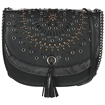 Bags Women Shoulder bags Desigual BOLS_TURÍN GOSSIP Black