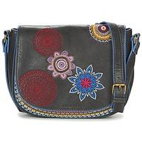 Bags Women Shoulder bags Desigual BOLS_VARSOVIA AMBER Black / Multicoloured