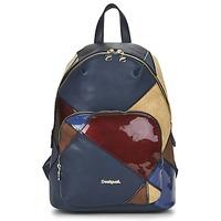 Bags Women Rucksacks Desigual BOLS_LIMA  TITAN MARINE / Multicoloured