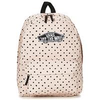 Bags Women Rucksacks Vans REALM BACKPACK Pink / Pale
