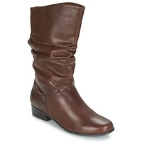Shoes Women Boots Spot on LAVAS Camel