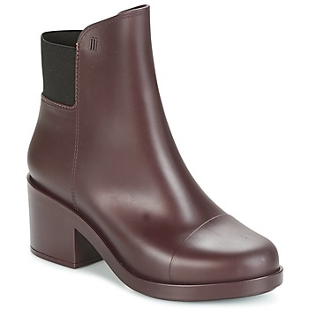 Shoes Women Ankle boots Melissa ELASTIC BOOTS Bordeaux