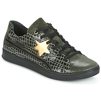 Shoes Women Low top trainers Pataugas JOIA Green / Grey