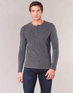 material Men Long sleeved shirts Le Temps des Cerises ROGER Grey