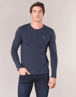 material Men Long sleeved shirts Le Temps des Cerises ROGER Marine