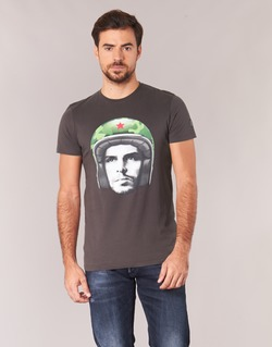 material Men short-sleeved t-shirts Le Temps des Cerises CUBA Grey