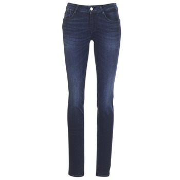 material Women straight jeans Le Temps des Cerises PULP REGULAR Blue / Dark